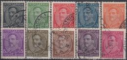 YUGOSLAVIA 228-237,used - 1931-1941 Königreich Jugoslawien