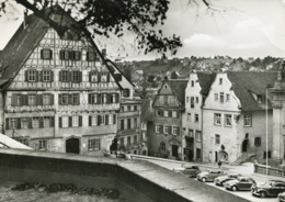 VW Käfer,Mercedes 170,220 W187,Fiat Topolino,Schwäbisch Hall,Am Markt, Ungelaufen - Turismo