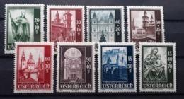 Domserie 1948, ANK 931-38 MNH(postfrisch) - 1945-.... 2nd Republic