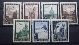 Österreich 1947, FLUGPOST,  ANK 820-26, MNH(postfrisch) - 1945-.... 2nd Republic