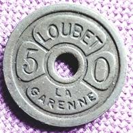 FRANCE ; JETON LOUBET - 50 - LA GARENNE Ref N - Francia