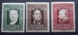Österreich 1948, ANK 864-866, MNH Postfrisch - 1945-.... 2nd Republic