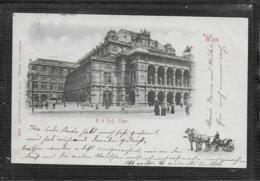 AK 0403  Wien - K. K. Hof-Oper ( Fiaker ) / Verlag Stengel & Co Um 1901 - Wien Mitte