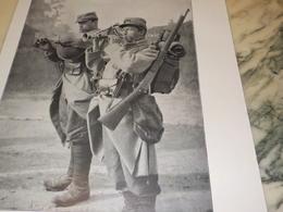AFFICHE PHOTO  LA BOMBARDE ET LE BINIOU BRETON SUR LE FRONT 1915 - Publicités