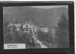 AK 0404  Semmering - Hotel Panhans Ca. Um 1910 - Semmering
