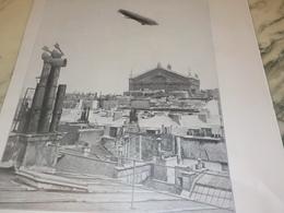 ANCIENNE PUBLICITE  LE DIRIGEABLE PATRIE 1907 - Transports