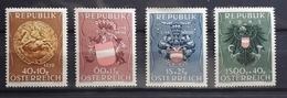 Österreich 1949, Heimkehrer ANK 949-52, MNH Postfrisch - 1945-.... 2nd Republic