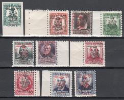 EMISIONES LOCALES PATRIÓTICAS, CADIZ 1936 Edifil Nº 1 / 10  MNH - 1931-Aujourd'hui: II. République - ....Juan Carlos I