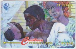 #07 - CARIBBEAN-097 - SAINT LUCIA - PEOPLE - Sainte Lucie