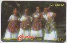 #07 - CARIBBEAN-102 - SAINT LUCIA - WOMAN - Sainte Lucie