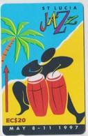 #07 - CARIBBEAN-103 - SAINT LUCIA - JAZZ - Sainte Lucie