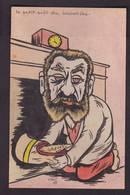 CPA JAURES Satirique Caricature Non Circulé Voir Scan Du Dos Sabot Grèves - Satiriques