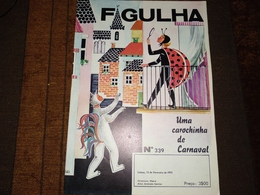 """Revista, Magazine Portuguese - """" FAGULHA """"  Nº 339 De 15-02-1972 - Libri, Riviste, Fumetti"""