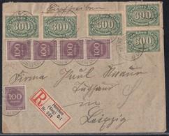 DR R-Brief Mif Minr.5x 249,5x 268 Herchen (Sieg) Ort 21.8.23 - Germania