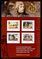 France 2019 - Collector - Naissance De Napoléon Bonaparte - 4 Timbres - Collectors