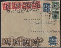 DR Brief Mif Minr.2x 279,4x 280,4x 281,2x 284 Erfurt 27.9.23 - Deutschland