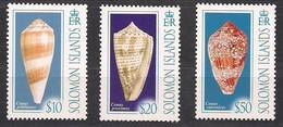 Salomon Solomon Islands 2006 Yvertn° 1213-1215 *** MNH Cote 28,75 Euro Faune Coquillages Schelpen Shells - Salomon (Iles 1978-...)