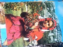 MACEDONIA  ANSAMBL LINDO FOLK  COSTUME V1970 HJ3618 - Macedonia