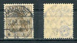 D. Reich Michel-Nr. 84I Vollstempel - Prüfkoriosität - Gebraucht