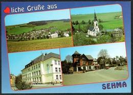 D2607 - TOP Sehma Kirche Schule - Bild Und Heimat Reichenbach - Qualitätskarte - Sehmatal