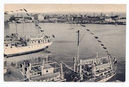 20.04.1945 YUGOSLAVIA, CROATIA,FIUME, SUSAK - PORTO TO BELGRADE, SHIPS, ILLUSTRATED POSTCARD, USED - Yugoslavia