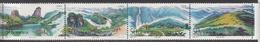 1994 China Wuyi Mountains Complete Strip Of 4 MNH - 1949 - ... République Populaire