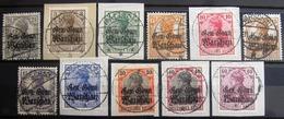 ALLEMAGNE Occupation En POLOGNE                   N° 6/16                       OBLITERE - Occupation 1914-18