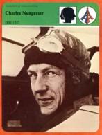 Charles Nungesser 1892 1927 Aviateur Avion Histoire De France  Transports Et Communications - Histoire