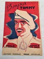 Bonjour Tommy - Paroles De J.S. Karmel - Musique De Tom Rays - Edition Musicale Tempo Bruxelles - Partitions Musicales Anciennes
