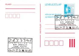 Hungary 1979 Card: Football Fussball Soccer Calcio; Shooting; Tennis; Boxing; Chess Bowling Cycling; Car; Spartakiade 79 - Fussball