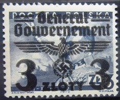 ALLEMAGNE Occupation En POLOGNE                   N° 50               NEUF* - Occupation 1938-45