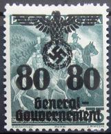 ALLEMAGNE Occupation En POLOGNE                   N° 46               NEUF* - Occupation 1938-45