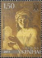 "UKRAINE - ""KAZASHKA KATYA"", BY TARAS SHEVCHENKO (1814-1861), PAINTER AND ARTIST 2011 - MNH - Arte"