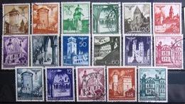 ALLEMAGNE Occupation En POLOGNE                   N° 56/67A               OBLITERE - Occupation 1938-45