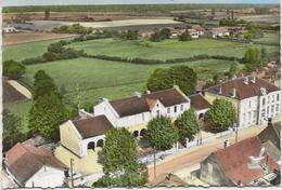 CPSM StMartin En Bresse Les écoles Et La Mairie - Frankrijk