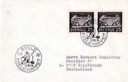 Sweden 1972 Cover:  Art Sculpture; Axel Petersson; Fishing (?) Asele Nappet - Skulpturen