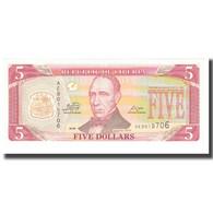 Billet, Liberia, 5 Dollars, 2009, KM:21, NEUF - Liberia