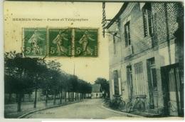 CPA FRANCE -  HERMÈS ( OISE )  POSTES ET TÉLÉGRAPHES - PHOTO ALBERT - 1920s (7014) - France