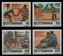 Botswana 1987 - Mi-Nr. 392-395 ** - MNH - Schamanismus - Botswana (1966-...)