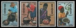 Botswana 1985 - Mi-Nr. 355-358 ** - MNH - Traditionelle Lebensmittel - Botswana (1966-...)