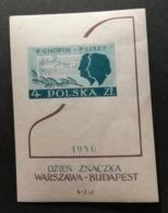 Pologne 1956 Y&T BF N°18 / ** / Journée Du Timbre - Blocs & Feuillets