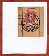 Zahlkartenstueck, Masaryk, Rozvadov Rosshaupt 1934? (89435) - Briefe U. Dokumente