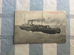 OOSTENDE 1919  OSTENDE LA NOUVELLE MALLE A TURBINES PIETER DE CONINCK - Oostende