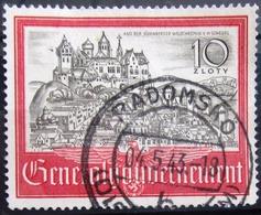 ALLEMAGNE Occupation En POLOGNE                   N° 81                      OBLITERE - Besetzungen 1938-45