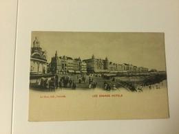 OOSTENDE  OSTENDE LES GRANDS HOTELS - Oostende
