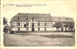 St Vith - Place Du Marché Et Musée De Folklore - Marktplatz Mit Museum (Phototypie D'Art Doome & Nisin) - Saint-Vith - Sankt Vith