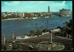 Ägypten  -  Cairo / Kairo  -  Generral View On The Nile  -  Ansichtskarte Ca. 1975   (12109) - Kairo