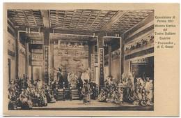 Esposizione Di Parma 1913 - Mostra Storica Del Teatro Italiano - Teatrini - Turandot Di C. Gozzi. - Parma