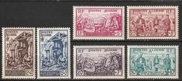 Algérie N° 319 - 324 * - Algerien (1924-1962)