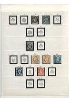France Collection Dans Un Album Safe Bleu 1849/1947 **/*/oblitérés.Forte Cote. - Frankreich